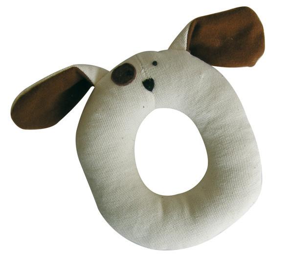 Croci pluchen ring hond