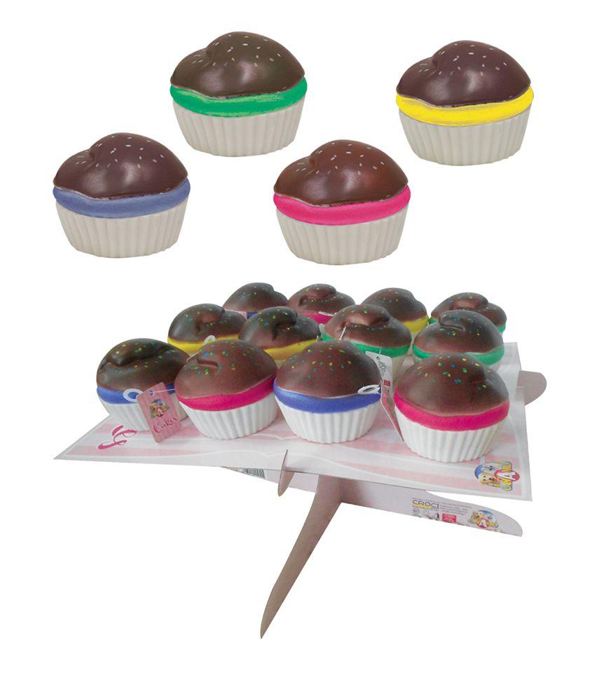 Croci vinyl cupcake speelgoed
