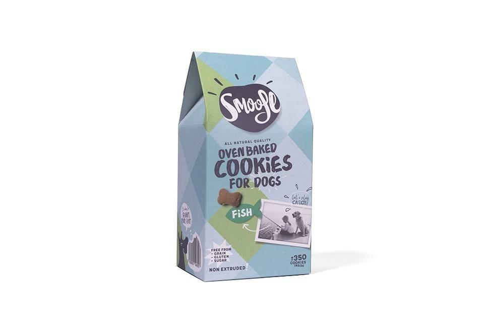 Smoofl Cookies fish105gr