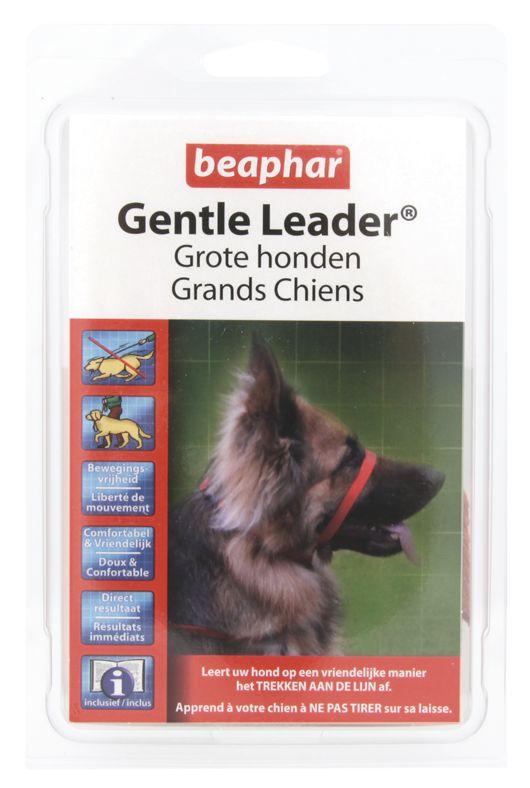 Beaphar gentle leader zwart