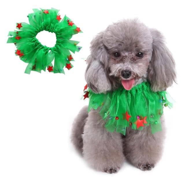 Snoef kerst collar