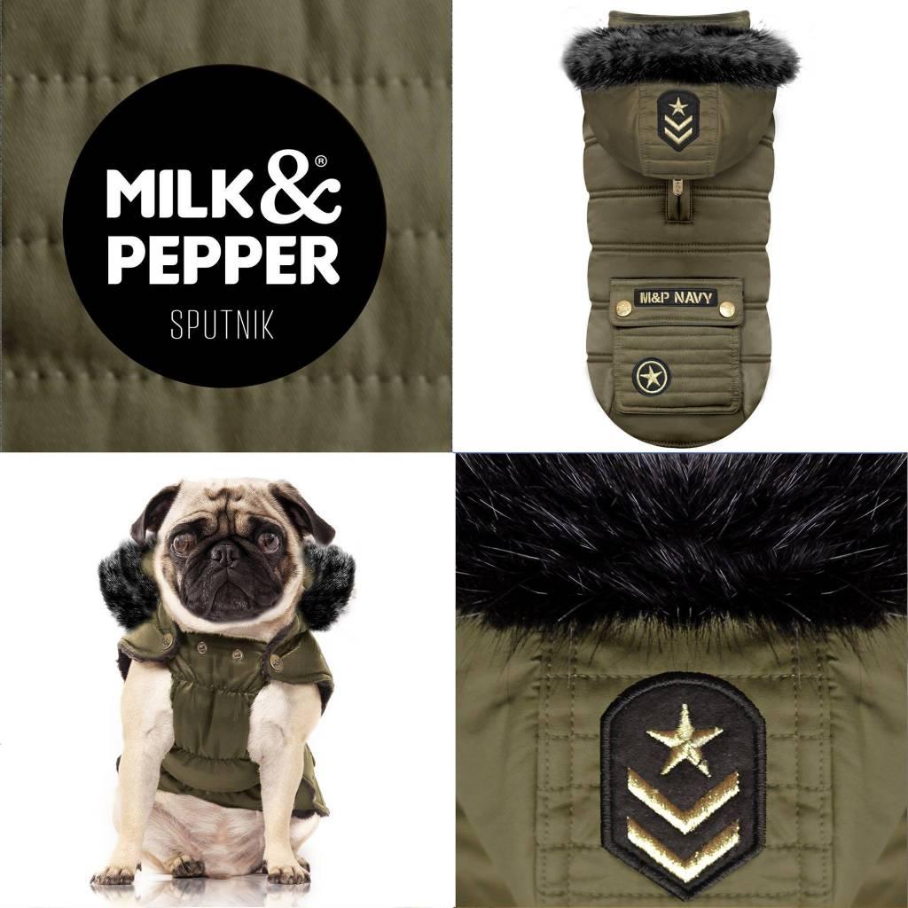 Milk&pepper sputnik kaki