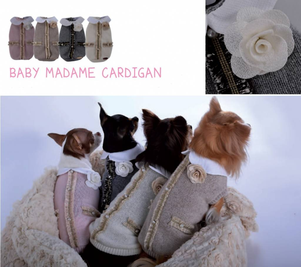 Baby dog boutique Madame cardigan