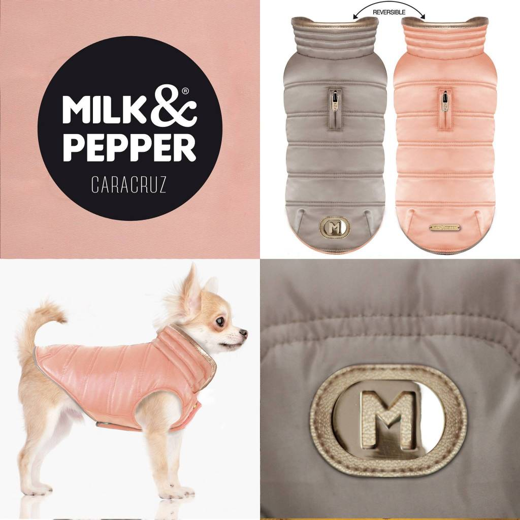Milk&pepper cara cruz taupe/pink 24cm