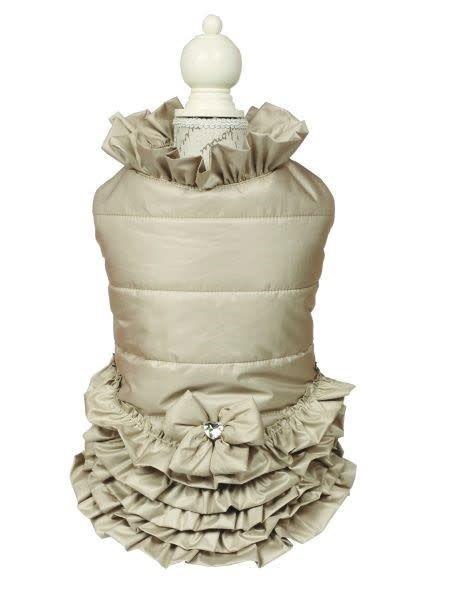 Charlotte's dress Elle beige