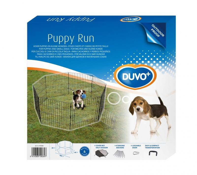 Laroy Puppy Ren (60 x 150 x 60 cm)