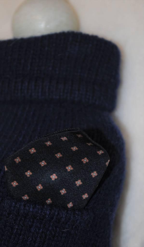 always mine little pocket donker blauw