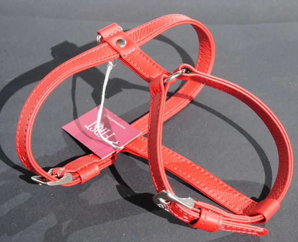 Malucchi Harnas rood (hals en buik verstelbaar)