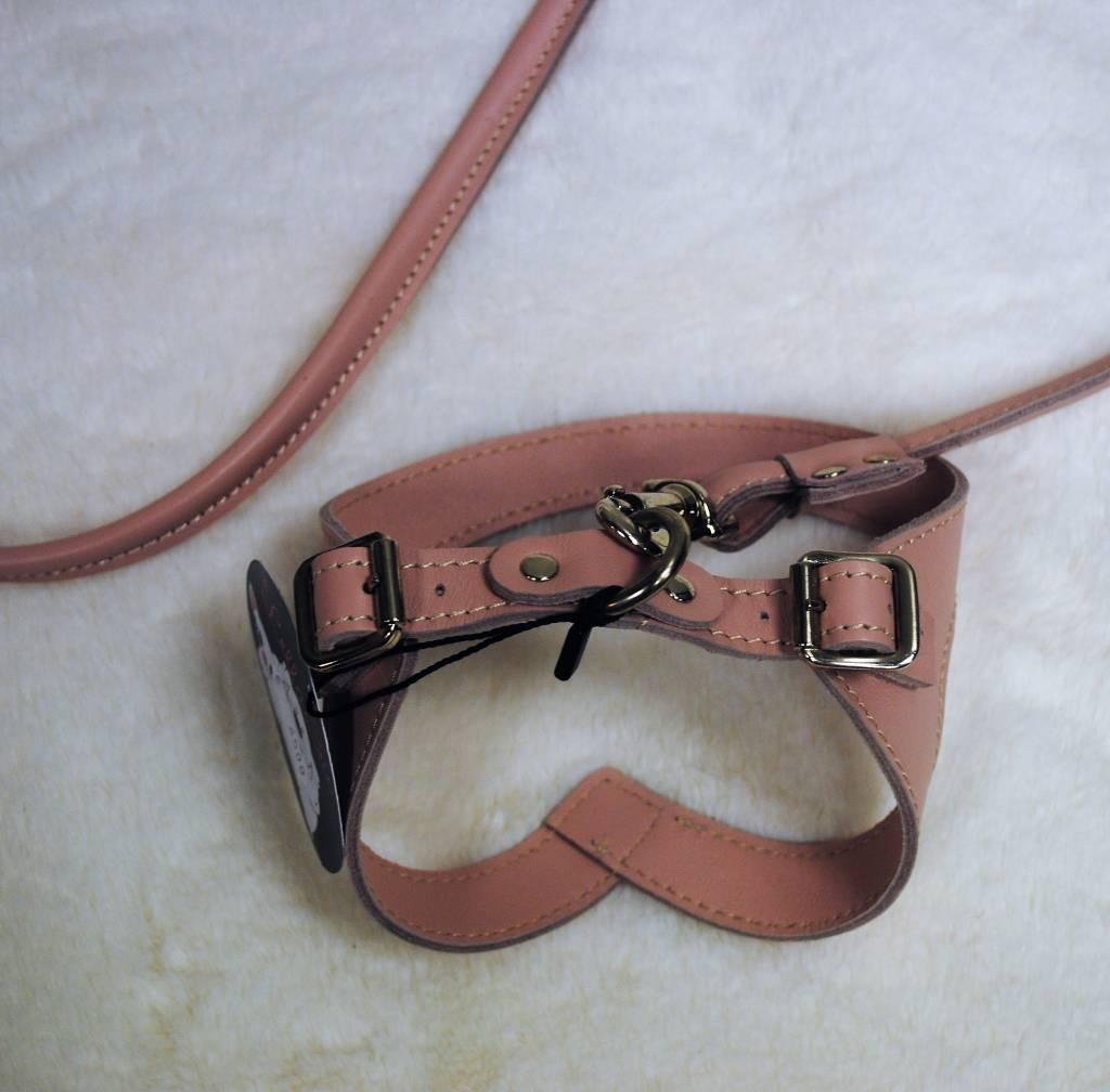 Lella Su set lijn met harnas roze