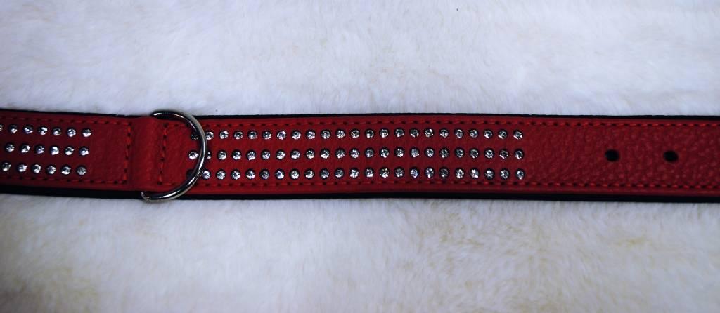 Karlie vintage strass rood