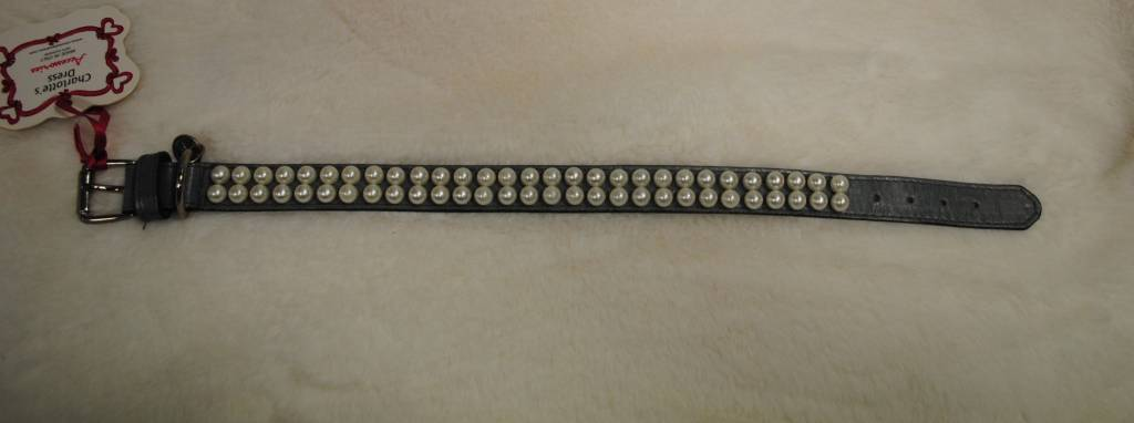 Charlotte's dress grijs met parels 40cm (bella)