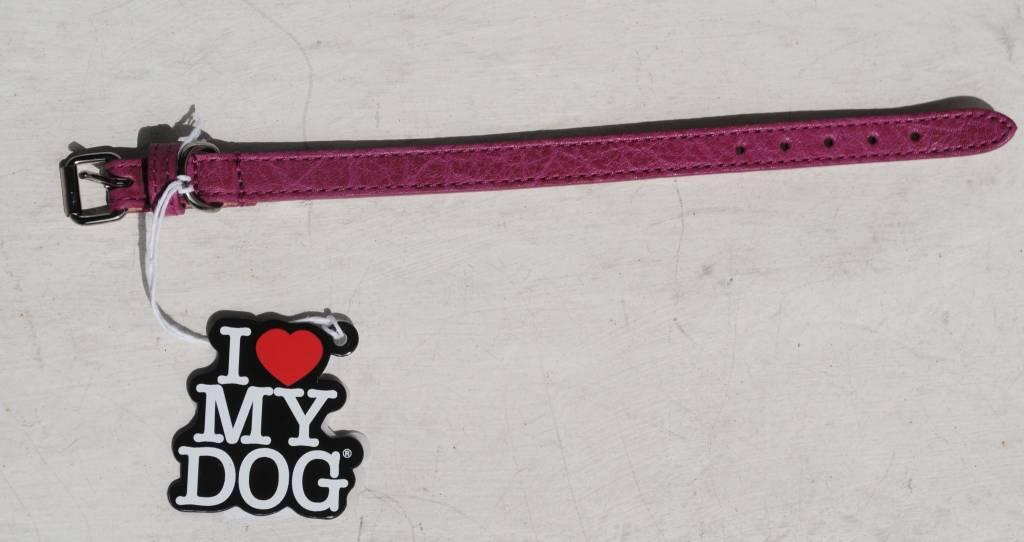 I love my dog fashion paars