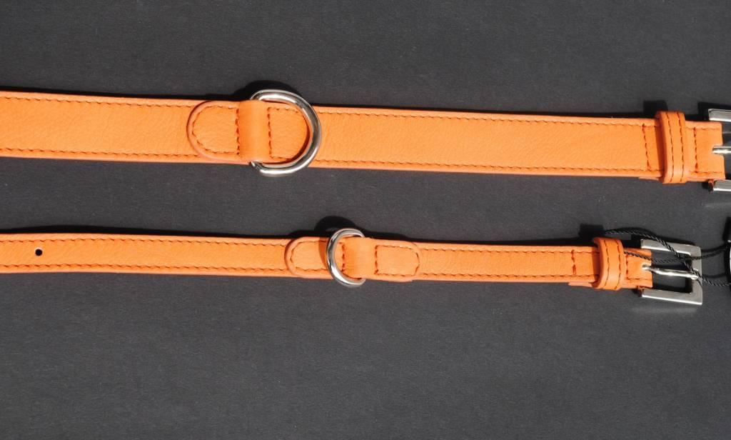 Lella Su classic kalfsleder oranje