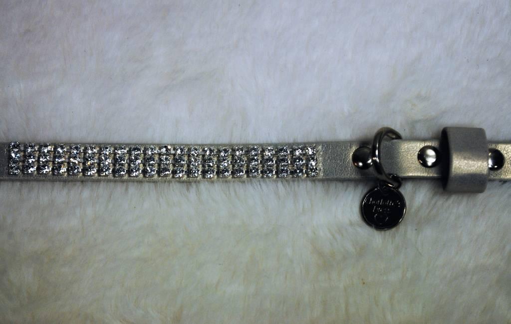 Charlotte's dress blin blin zilver (+ zilver)