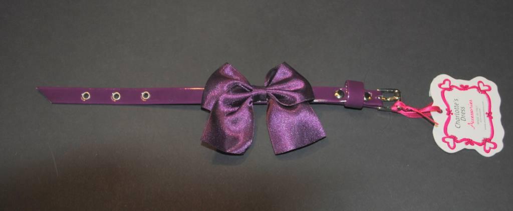 Charlotte's dress cleo paars 25cm (+zilver)