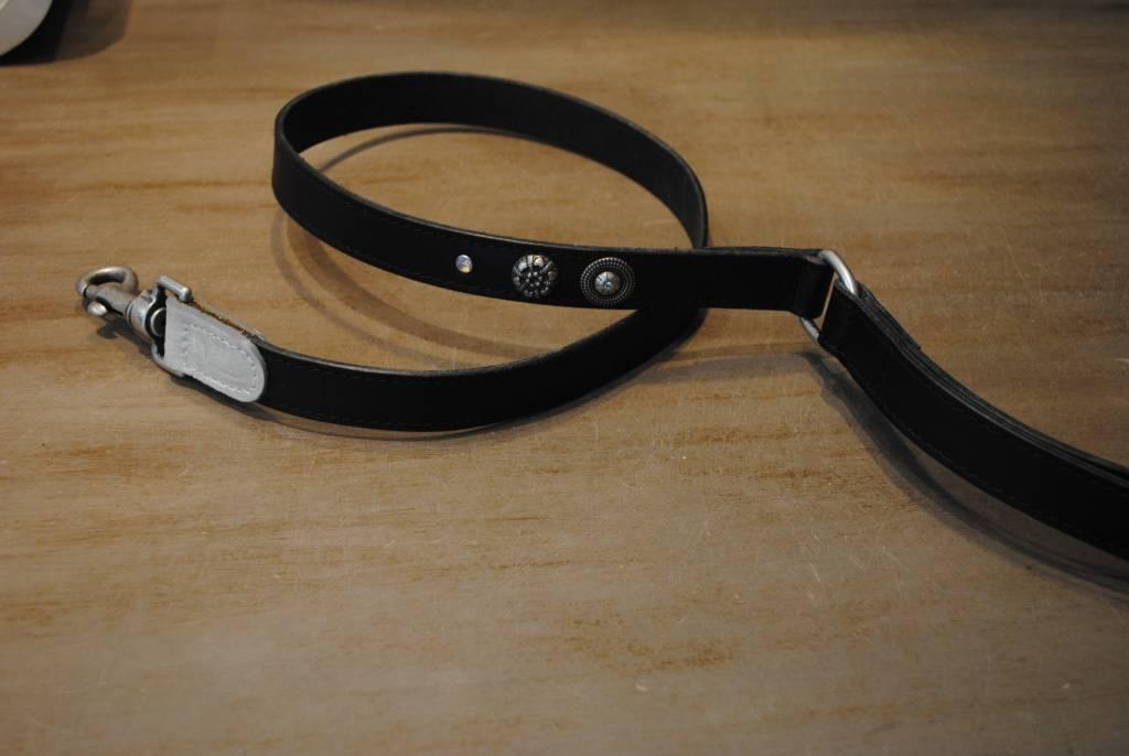 Da vinci lijn zwart en zilver 110 x 2.5 cm