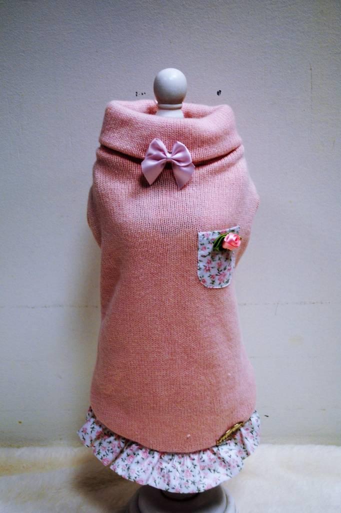 Baby dog boutique roze pull met katoen rokje