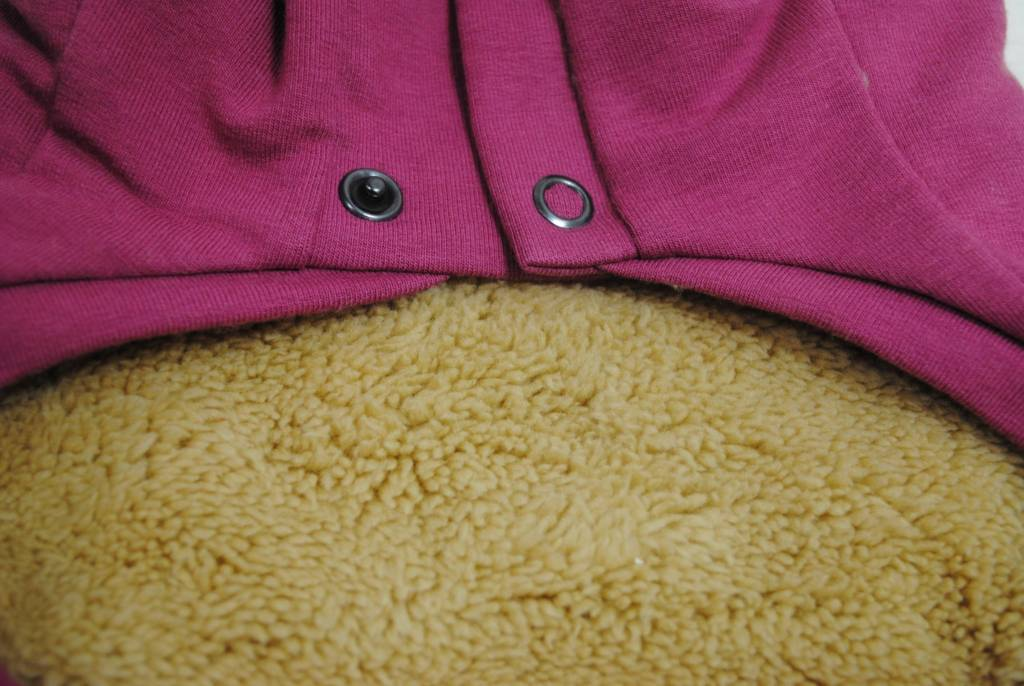 I love my dog idro sweatshirt old pink