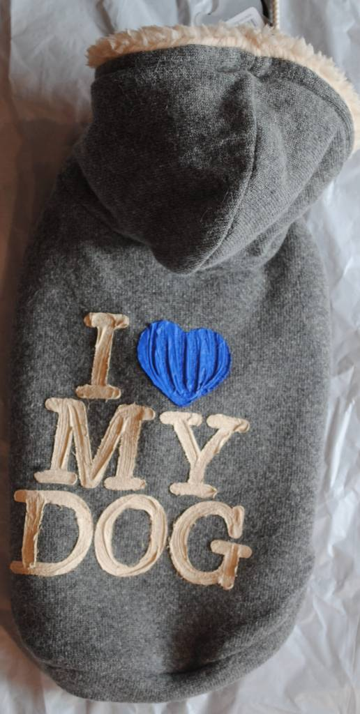 I love my dog sweater silicone