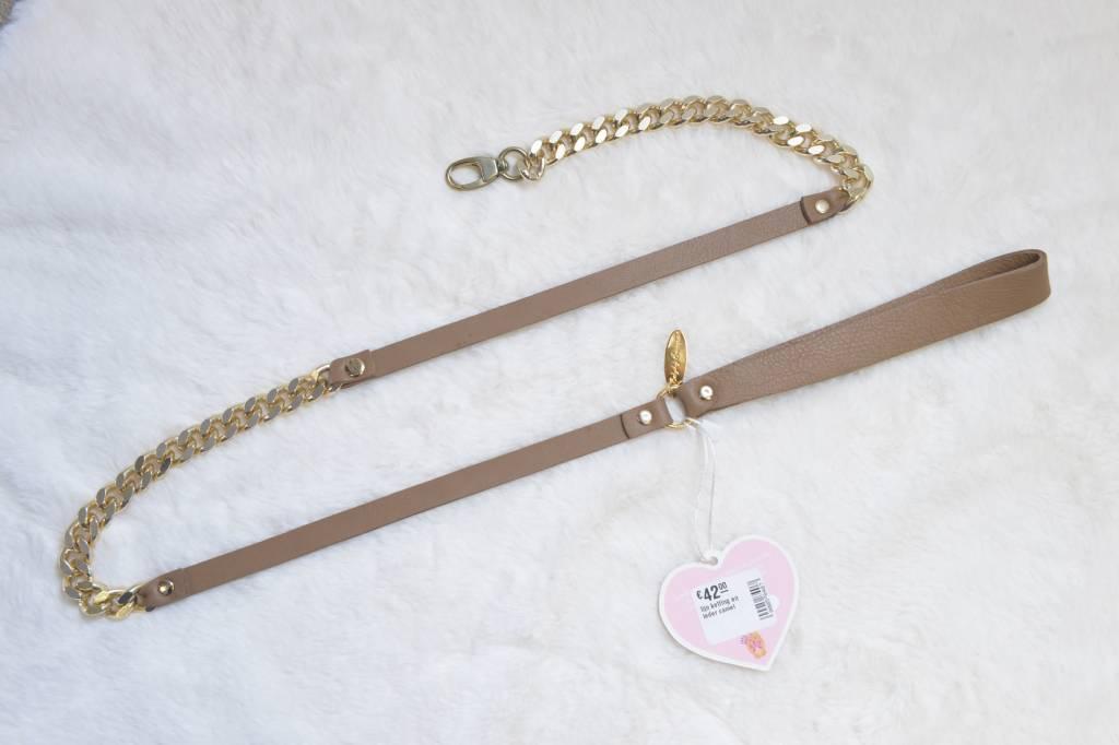 Baby dog boutique lijn ketting en leder