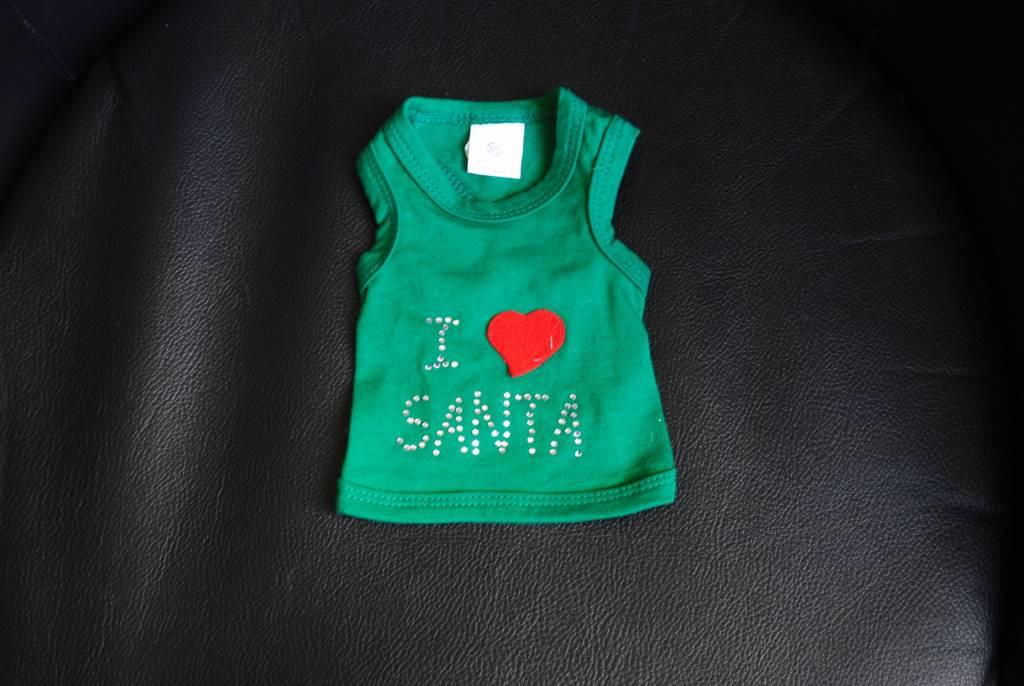 I love santa T-shirt green