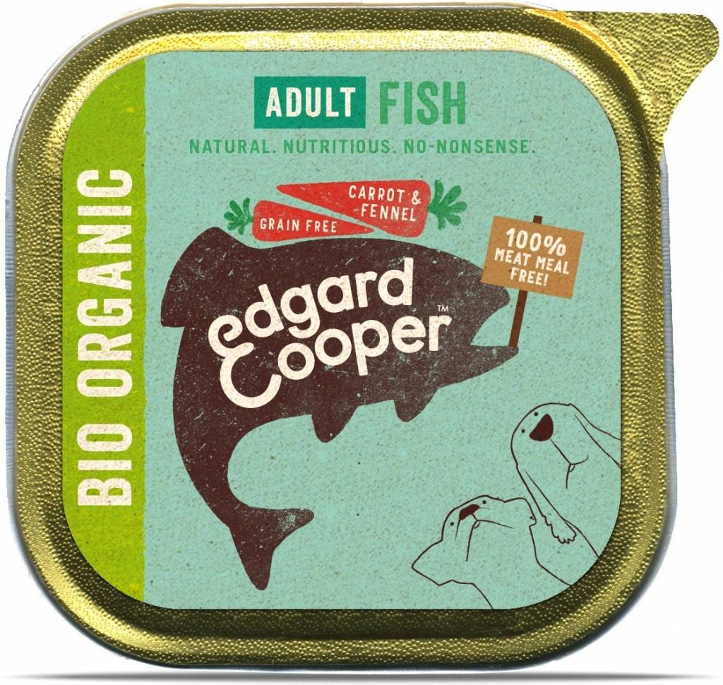 Edgard & Cooper 100gr bio vis ( wortel en venkel)