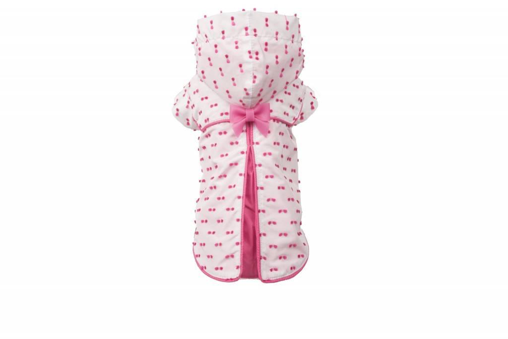 dog vip star shower roze