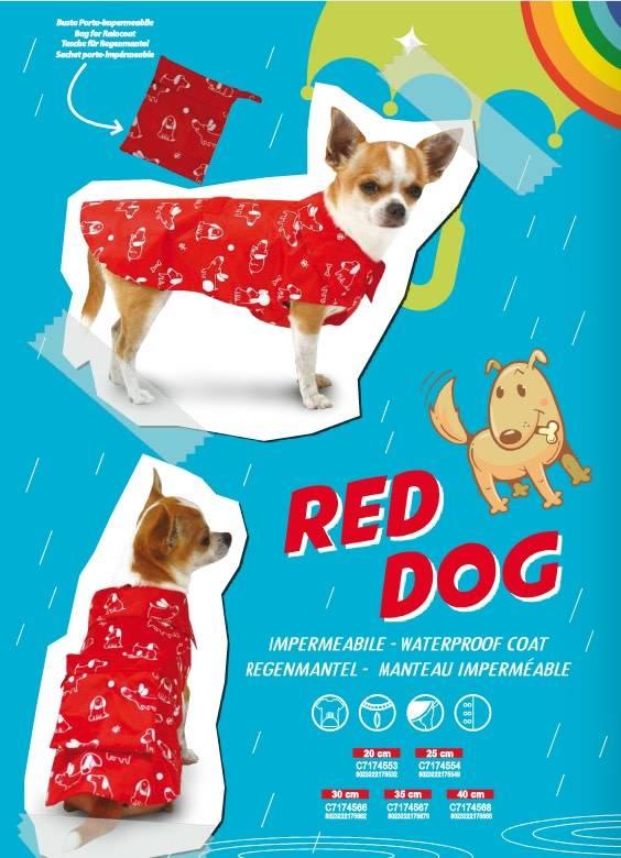 Croci regenjas hondjes rood
