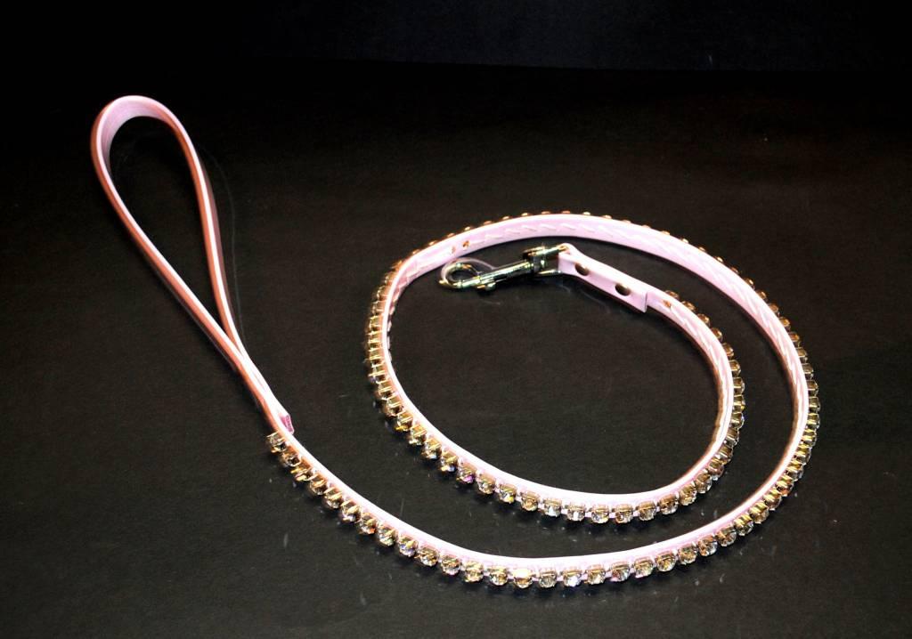 Charlotte's dress lijn roze met strass