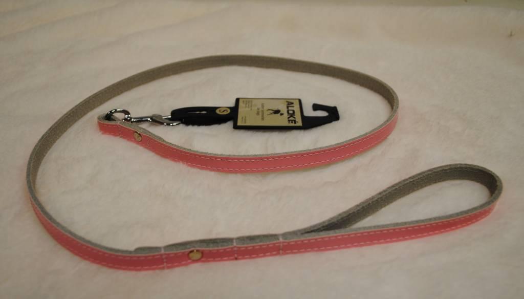 Aloké lijn roze lack (leder 12mm)