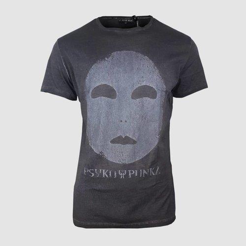 Mask Oil Wash  T-Shirt