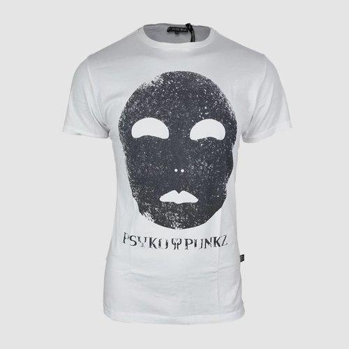Mask White T-Shirt