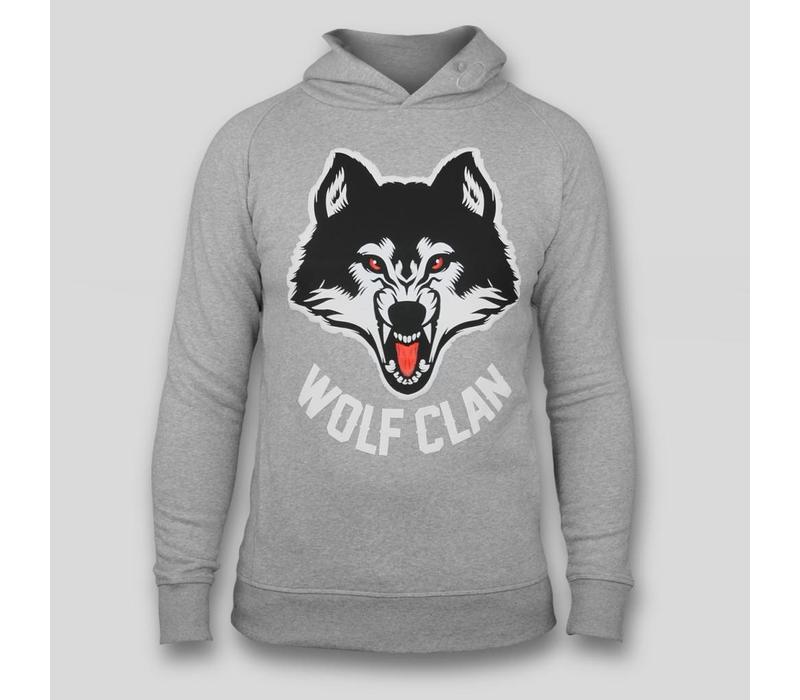 Wolf Clan Grey Hoody
