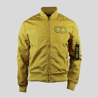 Coone - Golden Bomber Jacket