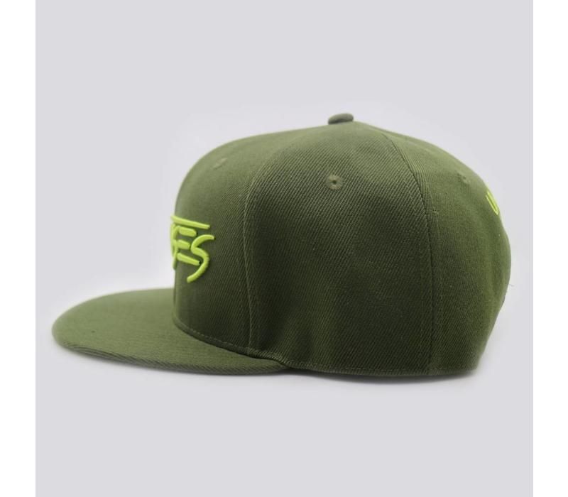 Unsenses - Army Green Snapback