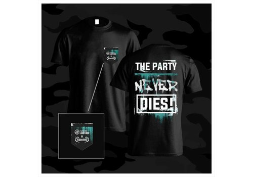 Hard Driver & Adaro - The Party Never Dies  T-Shirt