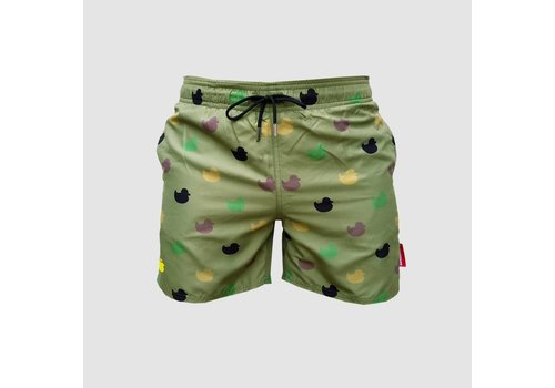 Da Tweekaz - Army Ducks  Swim Shorts