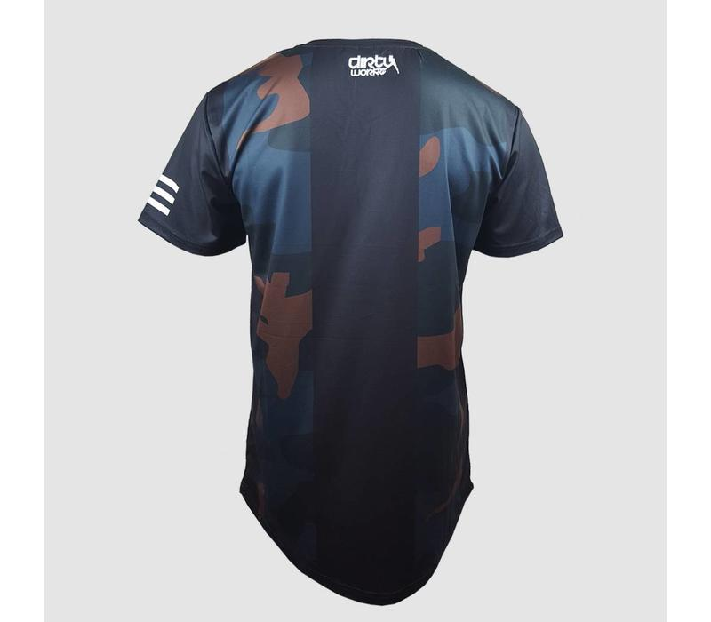 Dirty Workz - Soccer Shirt Black/ Army Green