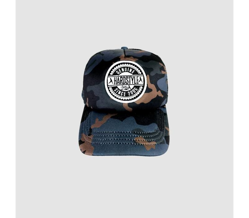 Dirty Workz - Genuine Hardstyle Cap  In Camo