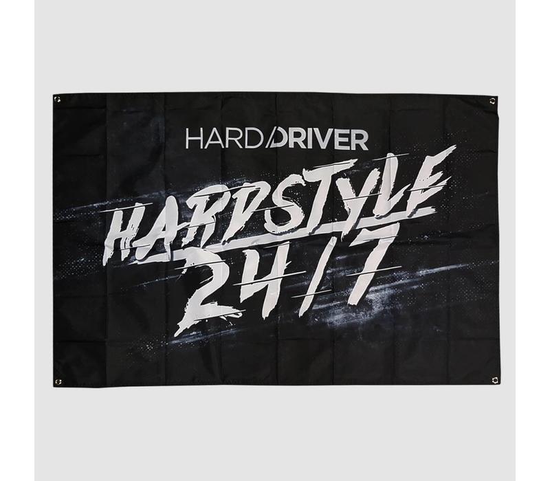 Hard Driver - Hardstyle 24/7 Flag
