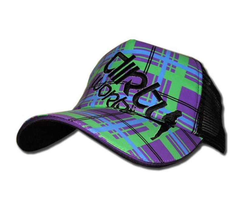 Dirty Workz - Purple/Green Cap