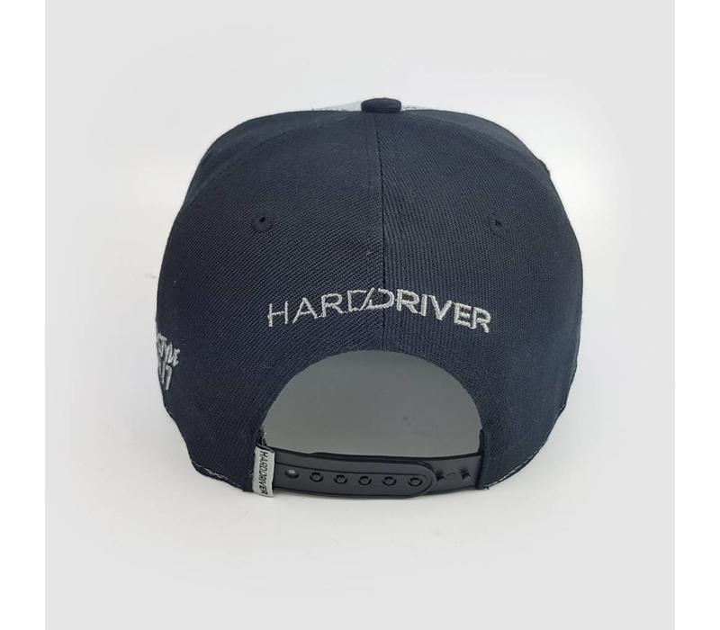 Hard Driver - Black & Grey Mesh Snapback