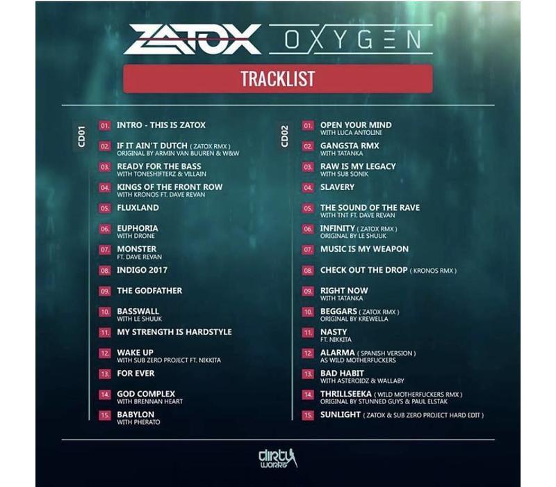 Zatox - Oxygen CD+Flag