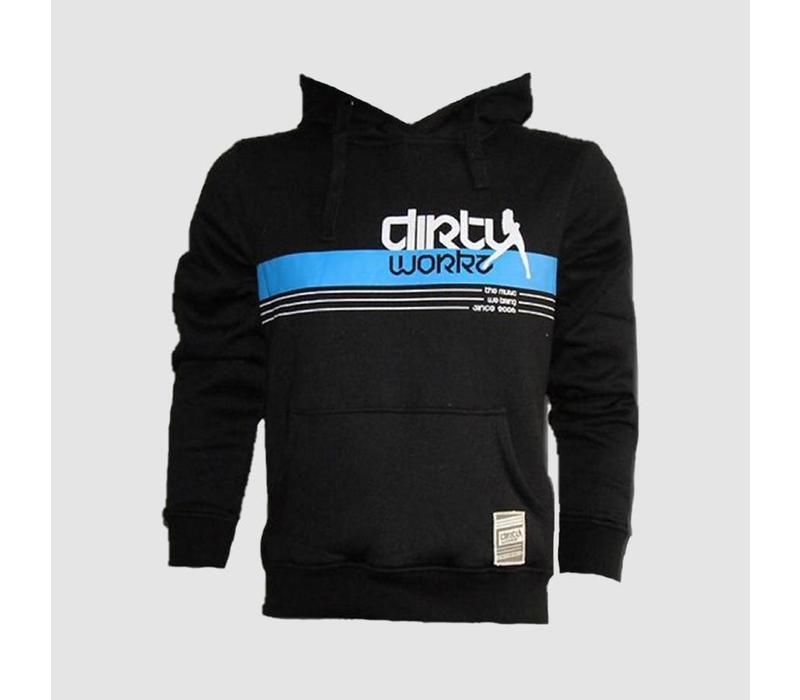Dirty Workz - Banner Design Hoody Blue