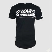 Da Tweekaz - 10 Years  Black Long-Tee