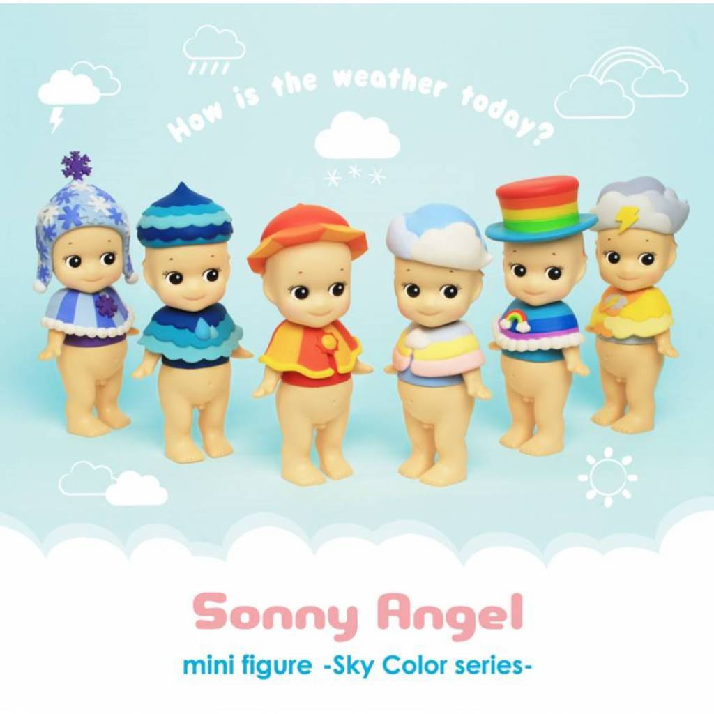 Sonny Angel Sonny Angel Sky Color Serie Snowy