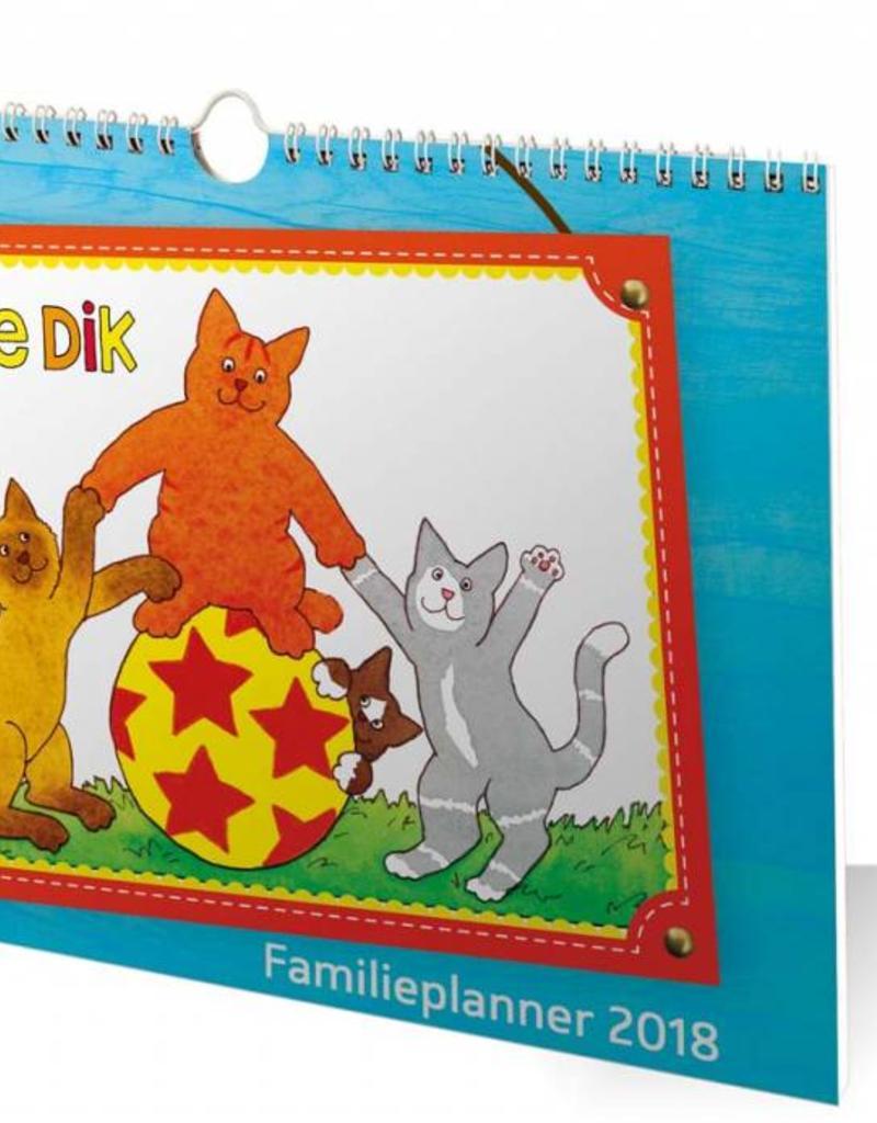 Dikkie Dik Dikkie Dik Familieplanner 2018