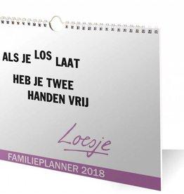 Loesje Familieplanner 2018