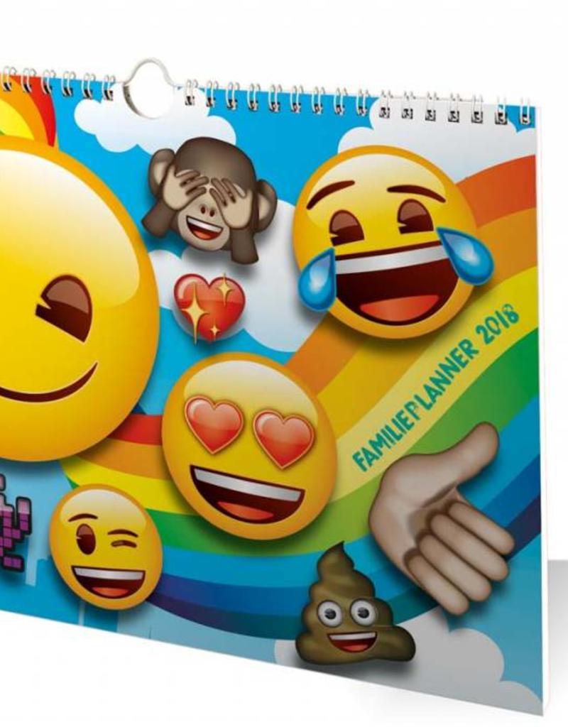 Emoji Familieplanner 2018