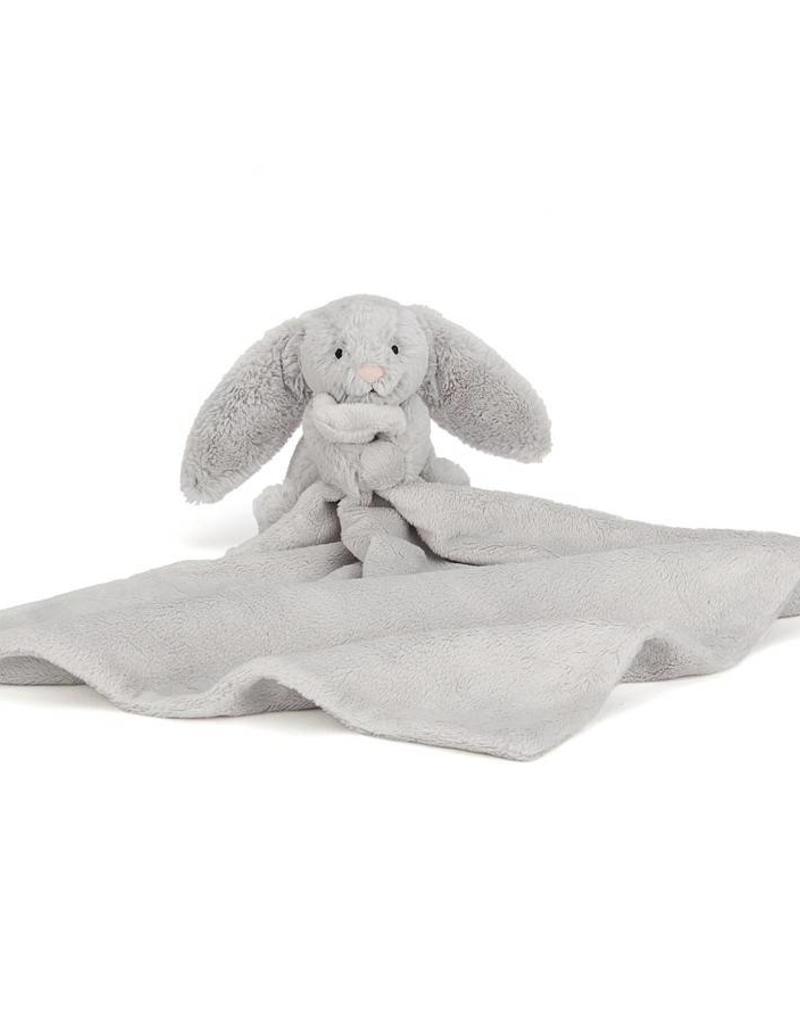 Jellycat Jellycat Bashful Bunny Blankie Silver